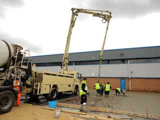 Dragon Concrete Pumping - About Concrete Pump Hire